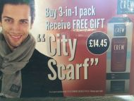 American Crew - Fiber, 3-in-1 and FREE City Scarf
